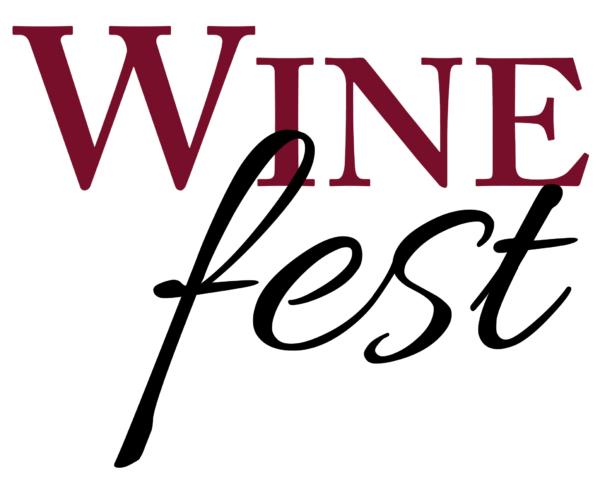 Wine Fest Text Logo